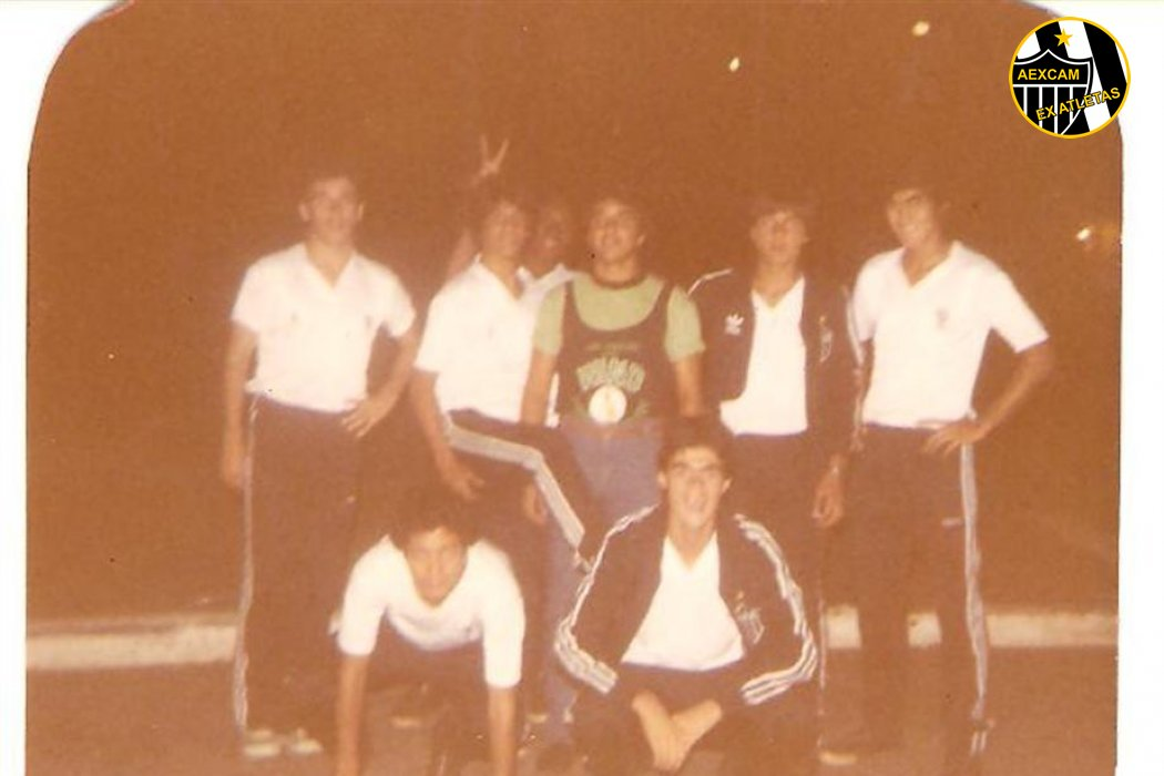 Categorias de Base do Galo - Triênio 1984/83/82
